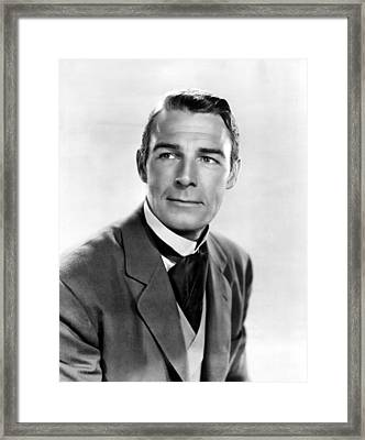 Belle Of The Yukon, Randolph Scott, 1944 Framed Print by Everett