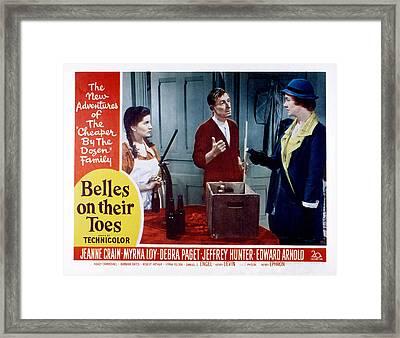Belles On Their Toes, Lobby Card Framed Print by Everett