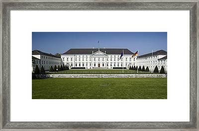 Bellevue Palace Berlin Framed Print by RicardMN Photography