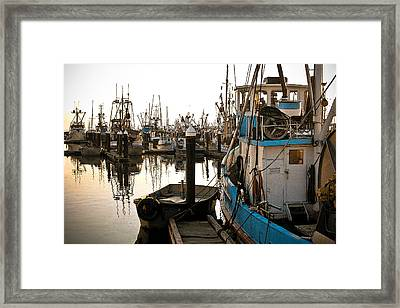 Framed Print featuring the photograph Bellingham Fishing Boats by Craig Perry-Ollila