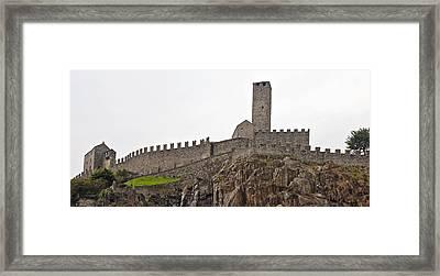Bellinzona - Ticino Framed Print by Joana Kruse
