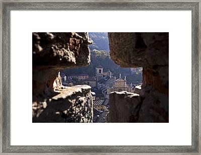 Bellinzona Framed Print