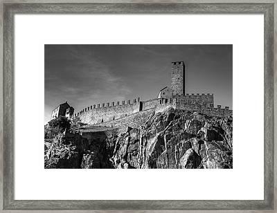 Bellinzona Switzerland Castelgrande Framed Print by Joana Kruse