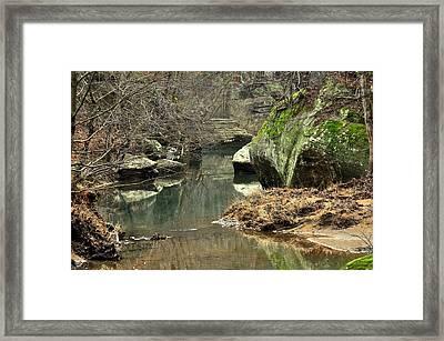 Bellsmith Creek Framed Print by Marty Koch