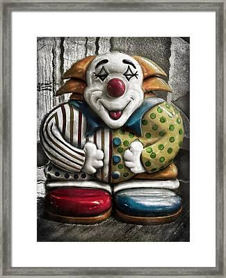 Belly Laugh Framed Print by Colleen Kammerer
