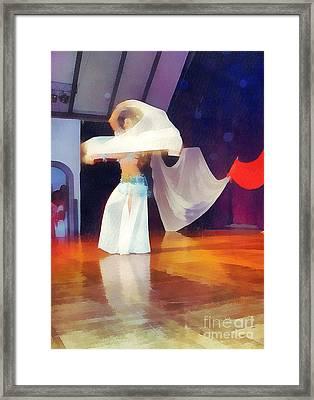 Bellydancer Framed Print by Odon Czintos