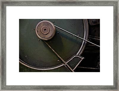 Belt Drive Framed Print by Odd Jeppesen