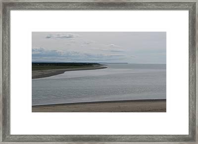 Beluga Bay Framed Print