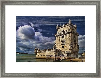 Belum Tower In Lisbon Portugal Framed Print by David Smith