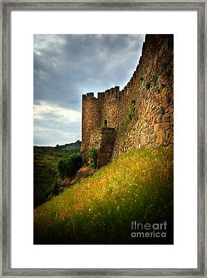 Belver Castle Framed Print by Carlos Caetano