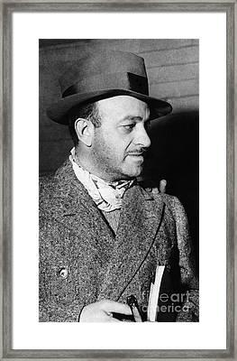 Ben Hecht (1894-1964) Framed Print