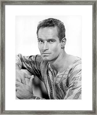 Ben-hur, Charlton Heston, 1959 Framed Print by Everett