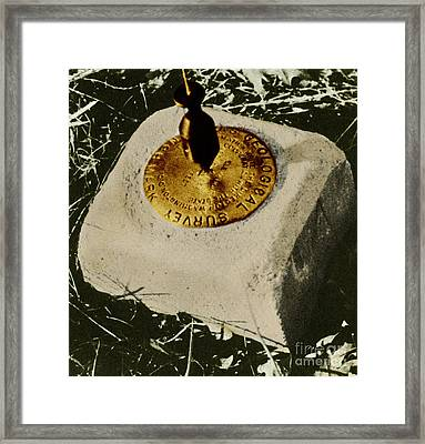 Benchmark Framed Print by Photo Researchers, Inc.