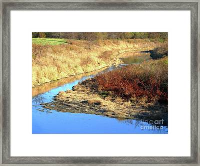 Bends Framed Print by Jessica Smith