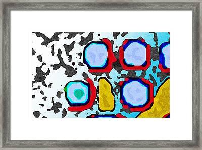 Beneath The Surface Framed Print
