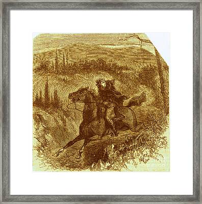 Benedict Arnold, American Traitor Framed Print