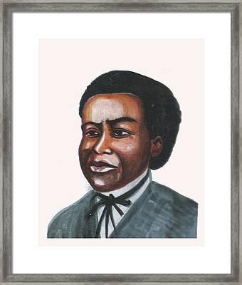 Benjamin Banneker Framed Print by Emmanuel Baliyanga