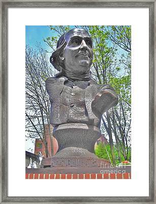 Benjamin Franklin Framed Print by Snapshot Studio