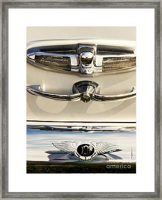 Bentley Details Framed Print