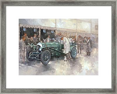 Bentley Old No.7 Framed Print