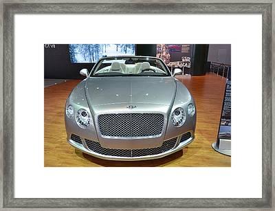 Bentley Starting Price Just Below 200 000 Framed Print by Randy J Heath