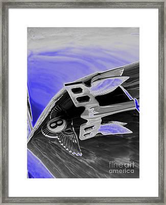 Bentley Framed Print by Trevor Fellows