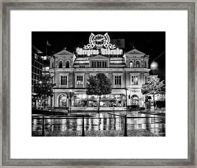 Bergen Tidende Framed Print