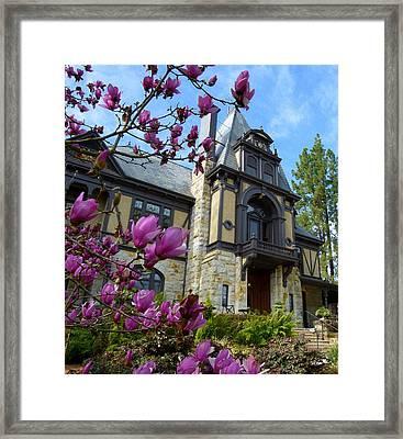 Beringer Family Mansion Framed Print