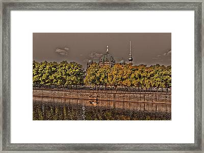 Berlin Cathedral ... Framed Print by Juergen Weiss
