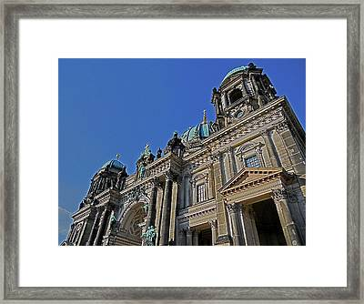Berlin Cathedral Framed Print by Juergen Weiss