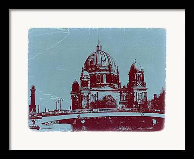 Berlin Cathedral Framed Prints