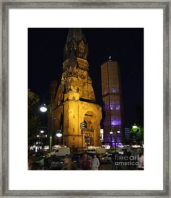 Berlin Nights Framed Print by Michael Swanson