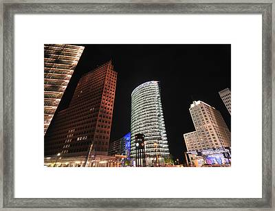 Berlin Potsdamer Platz Potsdam Square Germany Framed Print
