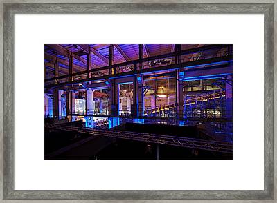 Berlin Powerhouse Event Framed Print by Mike Reid
