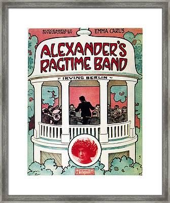 Berlin: Ragtime Band, 1911 Framed Print by Granger