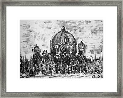 Berliner Dom Framed Print by Aurica Voss
