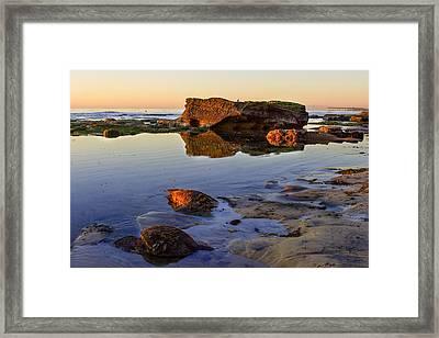 Bermuda Avenue Sunset Framed Print by Josh Whalen