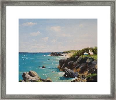 Bermuda Coast Framed Print by Thomas Kearon