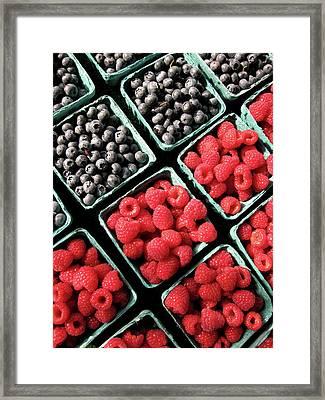 Berry Baskets Framed Print