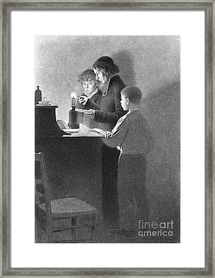 Bertrand Guillaume Carcel, French Framed Print by Science Source