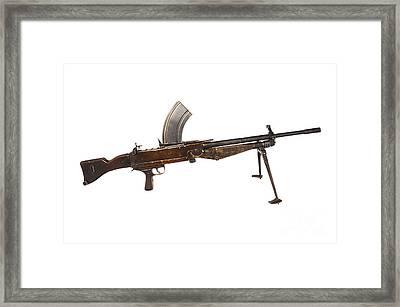 Besal Light Machine Gun Framed Print by Andrew Chittock