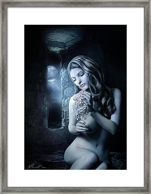 Beside The Window Framed Print