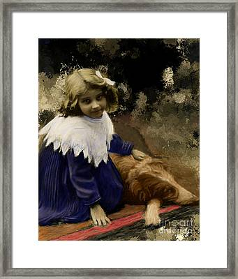 Best Of Friends Framed Print by Arne Hansen