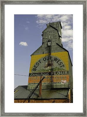 Best Out West Framed Print by Kenneth McElroy