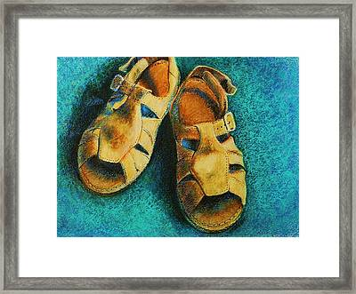 Best Pals Framed Print by Peggy Wrobleski