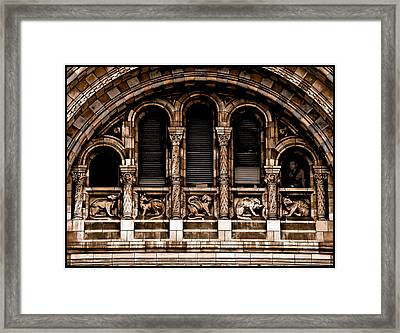 London, England - Bestiary Framed Print
