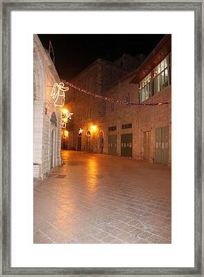 Bethlehem Angel Framed Print