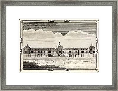 Bethlem Hospital, 18th Century Framed Print by Middle Temple Library