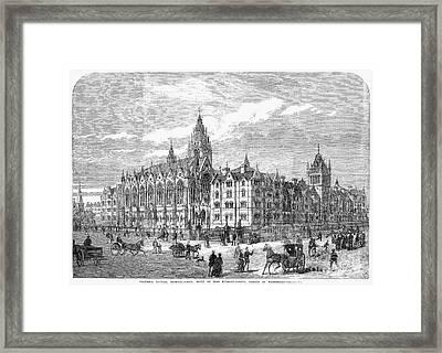 Bethnal Green Market, 1869 Framed Print by Granger