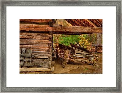 Better Days Framed Print by Charles Warren